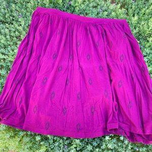 Trendy Pink Skirt